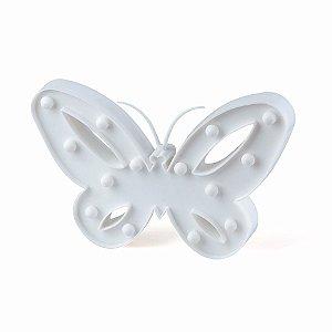 Luminária Borboleta Branca