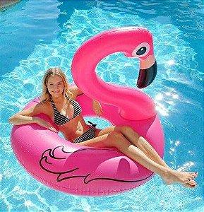 Bóia Inflável de Piscina Flamingo