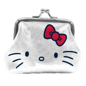 Porta Moedas Hello Kitty Face