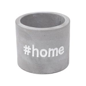 Cachepot Concreto Sweet Home