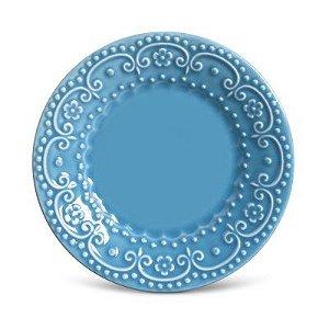 Prato de Sobremesa - Esparta Azul Celeste Porto Brasil