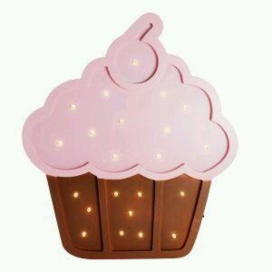 Luminária Cupcake MDF Grande