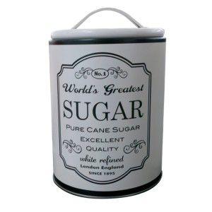 Lata Round Frame Sugar Branca