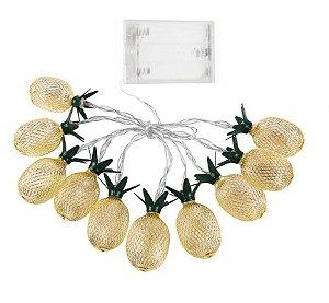 Cordão de LED Abacaxi Dourado