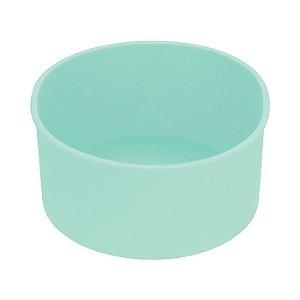 Forma Redonda de Silicone Verde Candy 14 CM