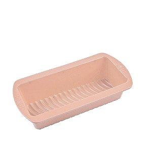 Forma para Pão Rosa Candy 26,5 Cm