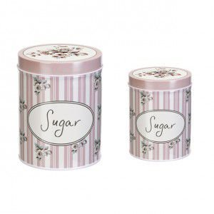 Conjunto de 2 Latas Sugar Collection