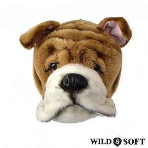 Cabeça de Cachorro Buldogue Matthew - Wild & Soft