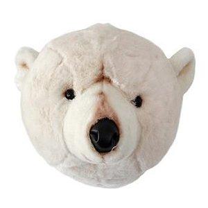 Cabeça Decorativa Urso Polar Wild & Soft ®