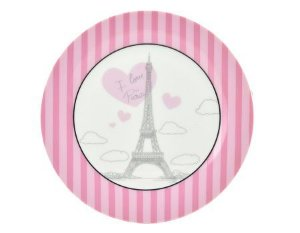 Prato de Sobremesa I Love Paris