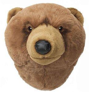 Cabeça Decorativa Urso Wild & Soft ®