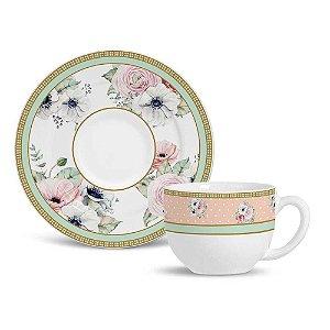 Xícara de Chá Flat Amore Premium