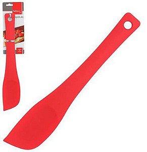 Espátula Pão Duro em Silicone Vermelha - WellMix
