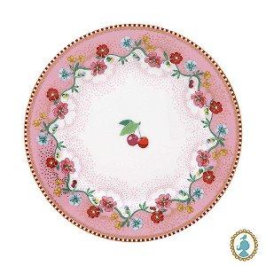 Prato de Pão Cherry Rosa – Floral – Pip Studio®