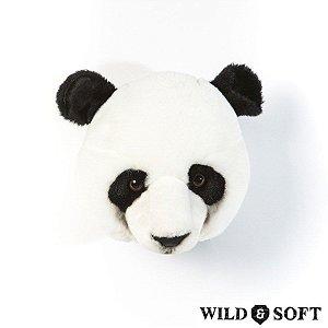 Cabeça Decorativa Urso Panda Wild & Soft ®