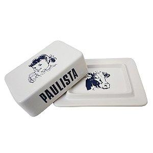 Manteigueira Cerâmica - Manteiga Paulista