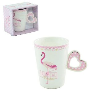 Caneca Tropical Flamingo