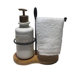 Kit para Lavabo com toalha