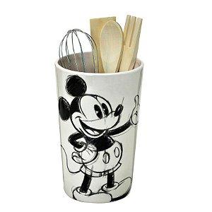 Porta Utensílios Mickey Grafite