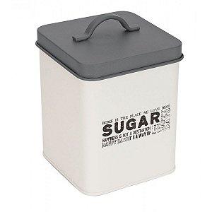 Pote Quadrado Para Açúcar - Hauskraft