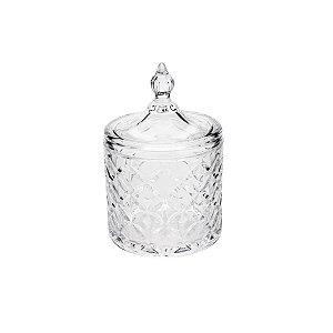 Potiche Decorativo de Cristal de Chumbo Lile