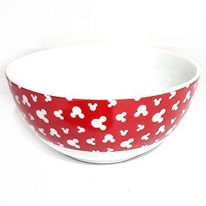 Bowl - Mickey Borda Vermelho com Branco