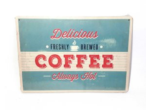 Placa Vintage Coffee Shop