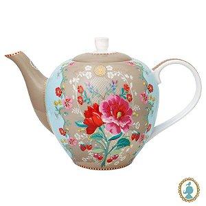 Bule Rose Cáqui – Floral – Pip Studio®