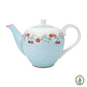 Bule Pequeno Cherry Azul – Floral – Pip Studio®