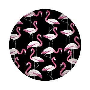 Prato de Sobremesa em Melamina - Flamingo