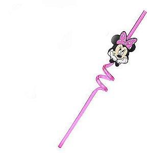 Canudo de Plástico Minnie