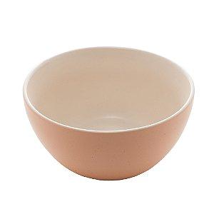 Bowl de Cerâmica Salmon Granilite 10cm - Bon Gourmet