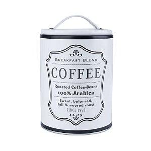 Lata Round Frame Coffee Branca