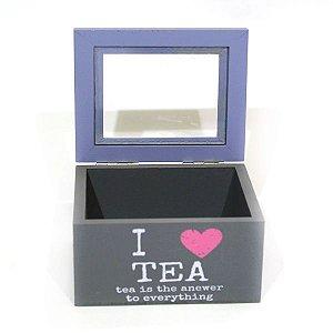 Caixa em MDF Tea Pequena