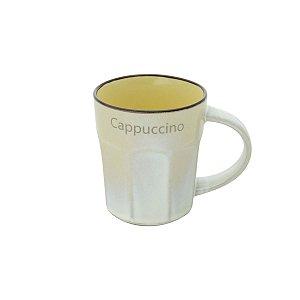 Caneca de Porcelana Allure Amarelo