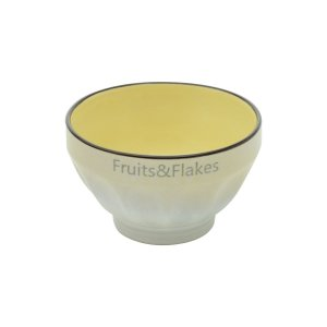 Bowl de Porcelana Allure Amarelo
