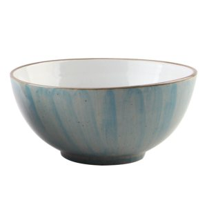 Bowl de Porcelana Azul Mescla Watercolor - Bom Gourmet