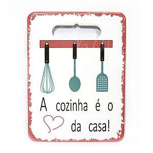 Descanso de Panela A Cozinha é  o Coração da Casa
