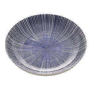 Prato de Sobremesa Porcelana Atlantis