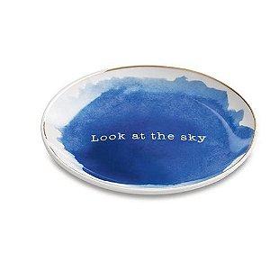 Mini Prato Decorativo Redondo Look at the Sky