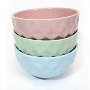 Conjunto de 03 Bowls Candy Color