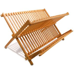 Escorredor de Louça de Bambu - Yoi