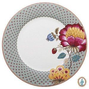 Prato de Jantar Azul - Floral Fantasy - Pip Studio