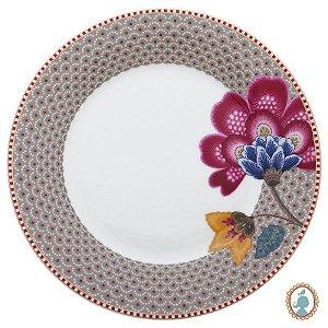 Prato de Sobremesa Cáqui - Floral Fantasy - Pip Studio