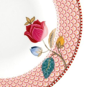 Prato de Sopa Rosa Fantasy - Floral Fantasy - Pip Studio