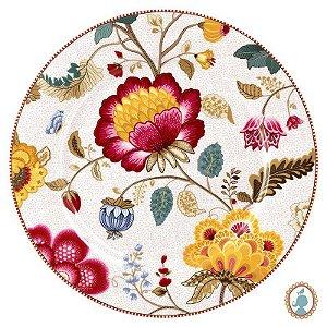 Prato Sousplat Branco - Floral Fantasy - Pip Studio