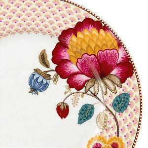 Prato de Jantar Branco Fantasy - Floral Fantasy - Pip Studio