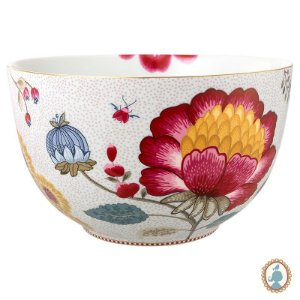 Tigela 23 Branco - Floral Fantasy - Pip Studio