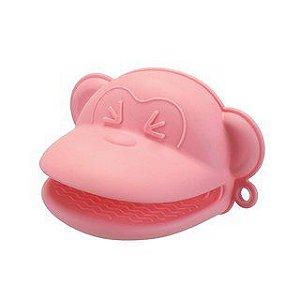 Pegador Macaco Candy Rosa