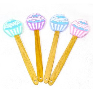 Conjunto de 4 Espátulas Cupcake